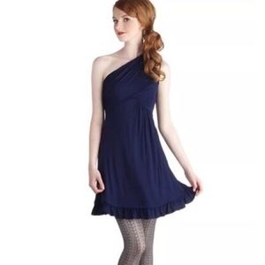Gilli ModCloth Midnight Sun One Shoulder Dress